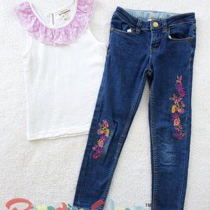 *GUC* In Blossom Jeans & Tank. Size 6